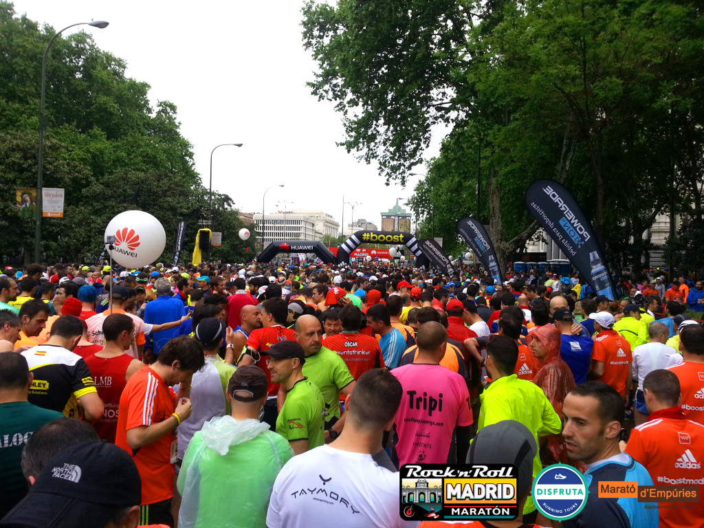 Madrid Marathon Start